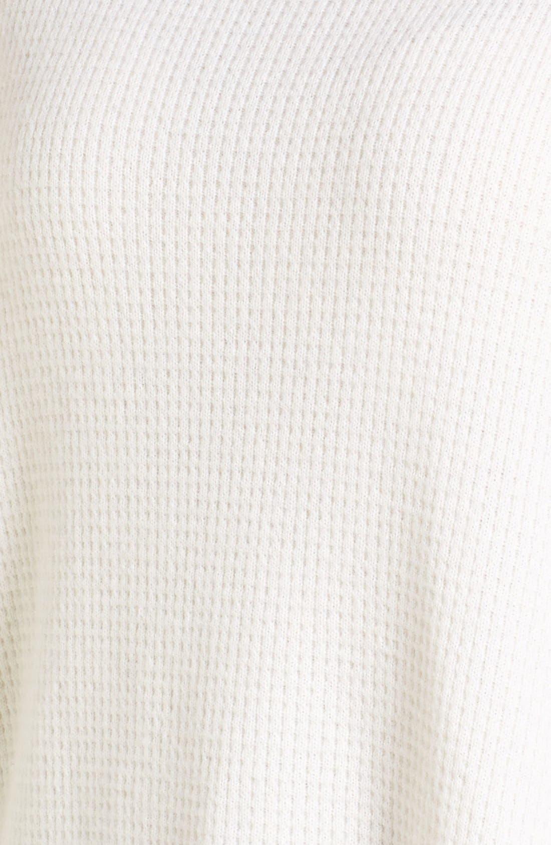Alternate Image 5  - Nordstrom Collection Cashmere Boxy Turtleneck
