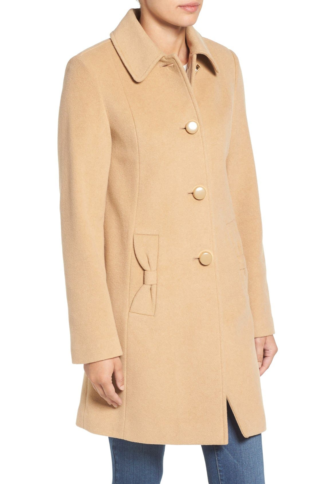 Alternate Image 3  - kate spade new york wool blend walking coat