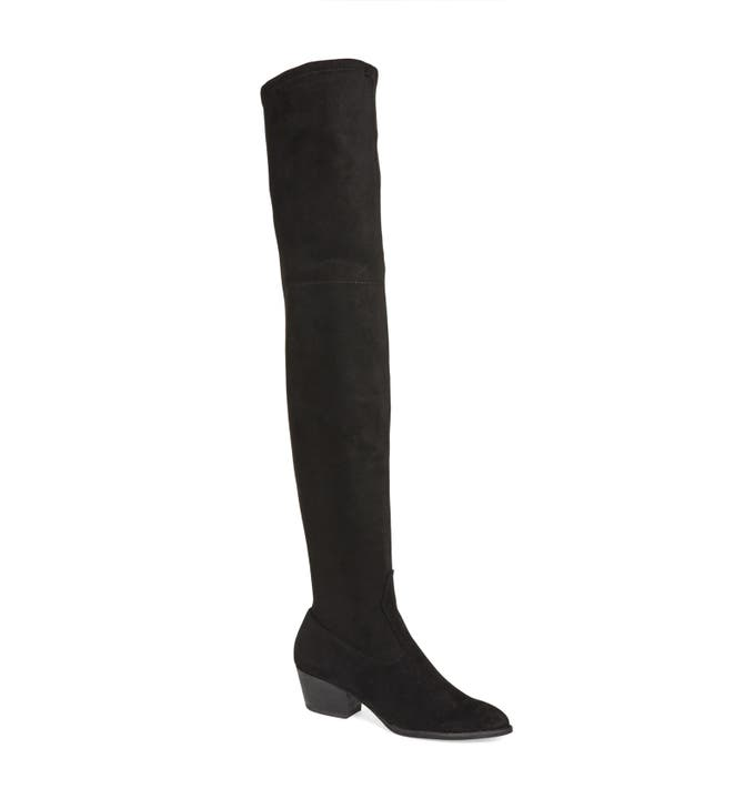 Dolce Vita 'Sparrow' Thigh High Almond Toe Boot (Women) | Nordstrom