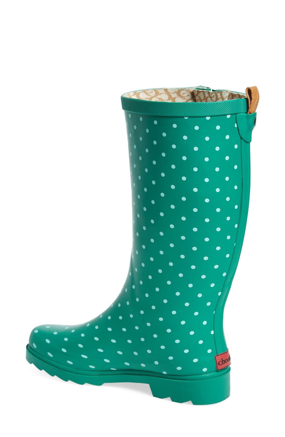Alternate Image 2  - Chooka 'Classic Dot' Rain Boot (Women)