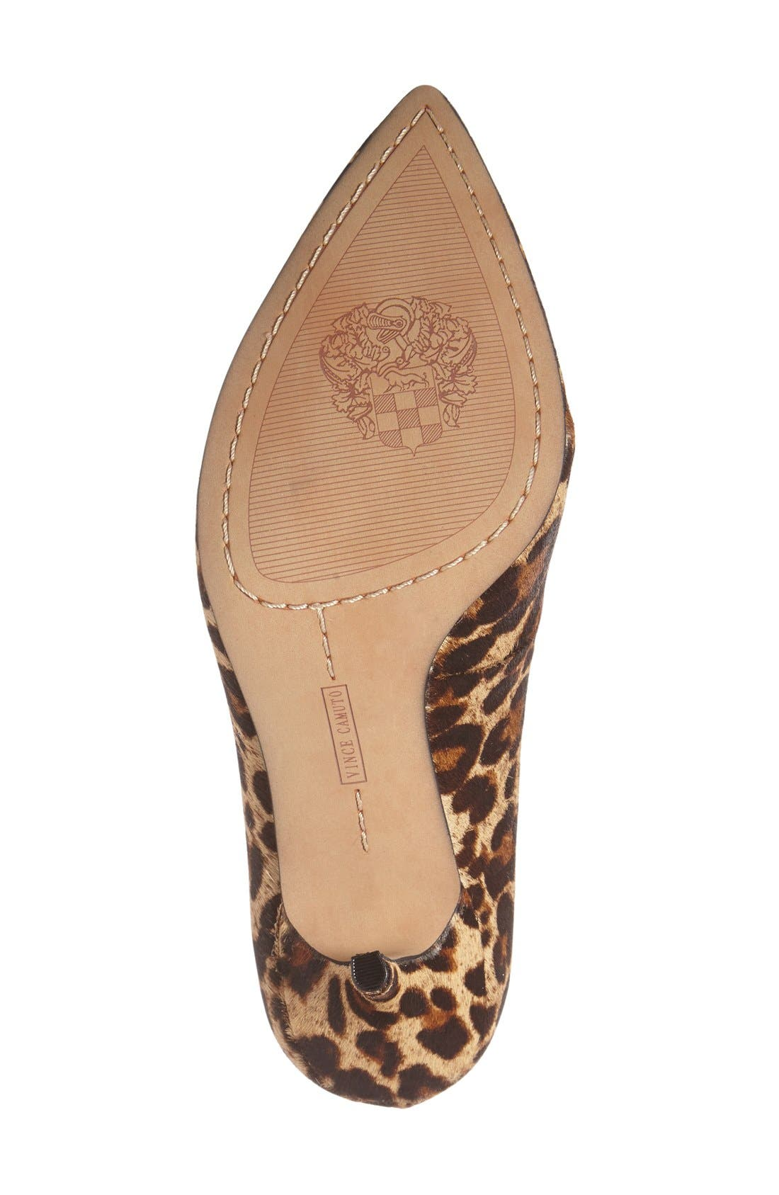 Alternate Image 4  - Vince Camuto 'Salest' Genuine Calf Hair Pump (Women)