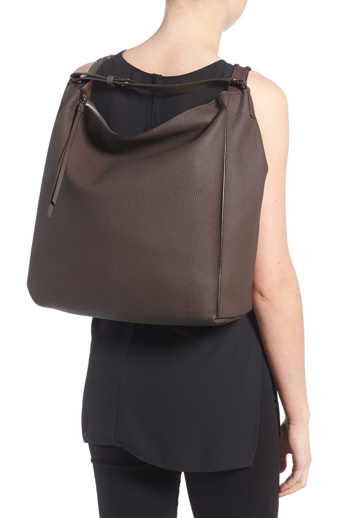 Alternate Image 2  - ALLSAINTS Kita Convertible Leather Backpack