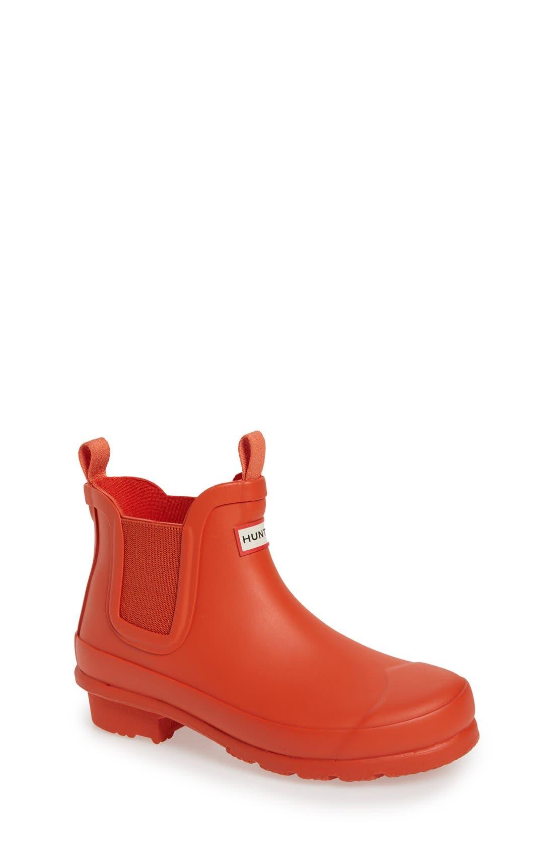 Alternate Image 1 Selected - Hunter 'Original' Chelsea Rain Boot (Toddler, Little Kid & Big Kid)