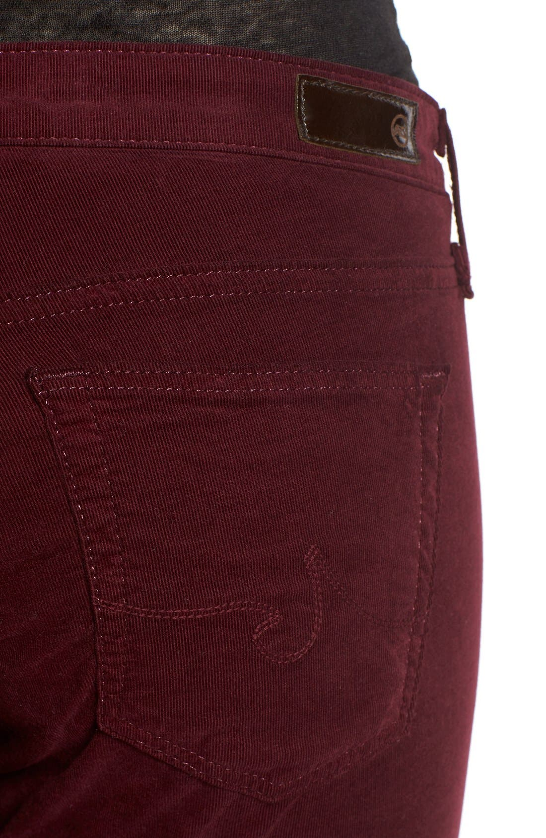 Alternate Image 4  - AG Jeans Stretch Corduroy Pants