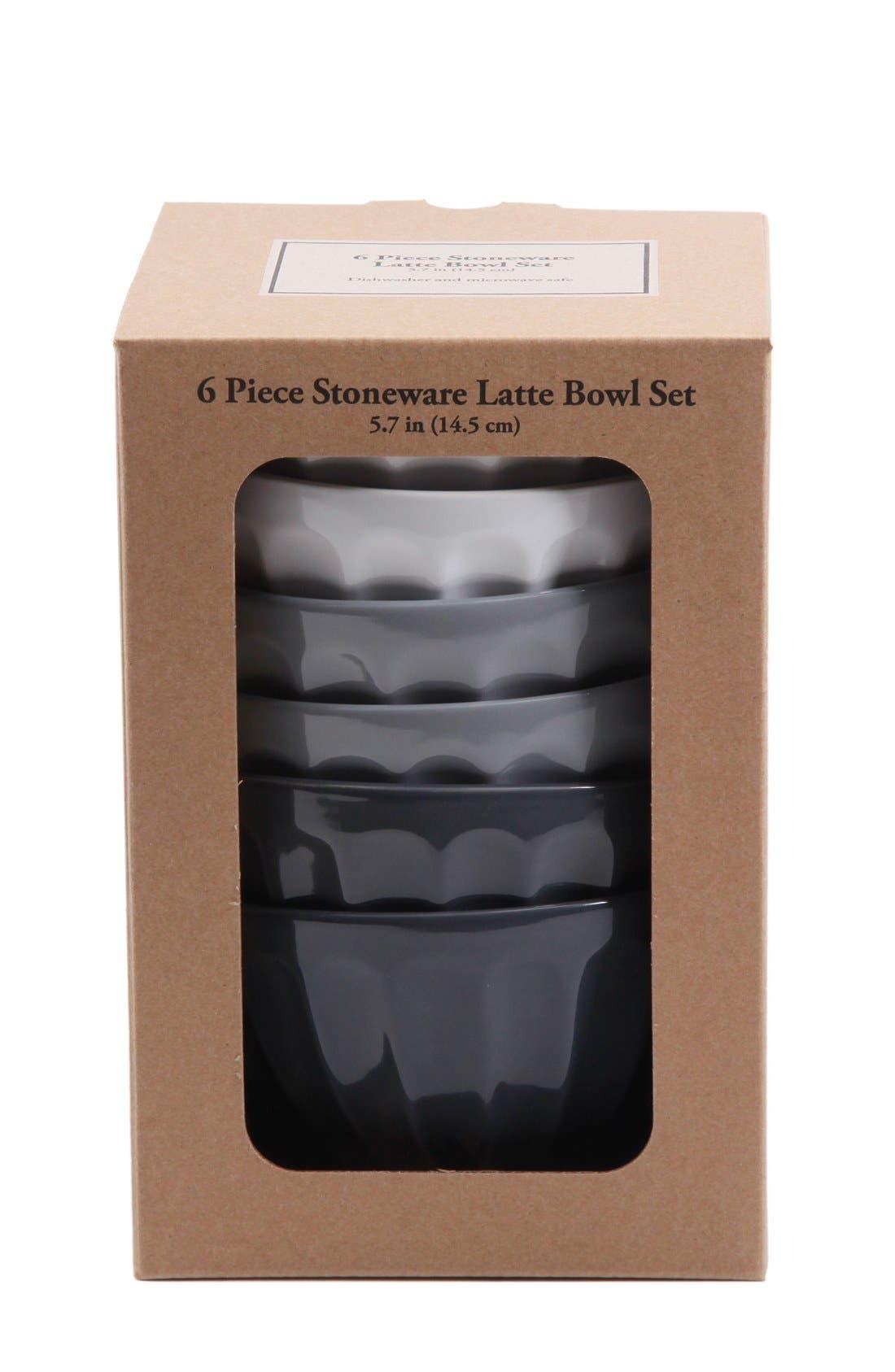 Alternate Image 3  - Gibson Latte Bowls (Set of 6)
