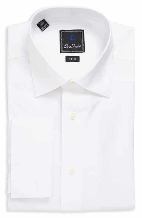 Men 39 s french cuff dress shirts nordstrom for David donahue french cuff shirts