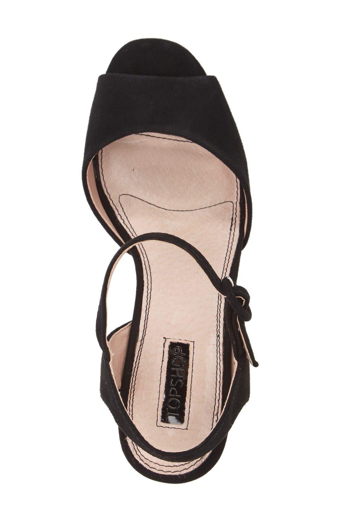 Alternate Image 3  - Topshop 'Lana' Chunky Platform Sandal (Women)