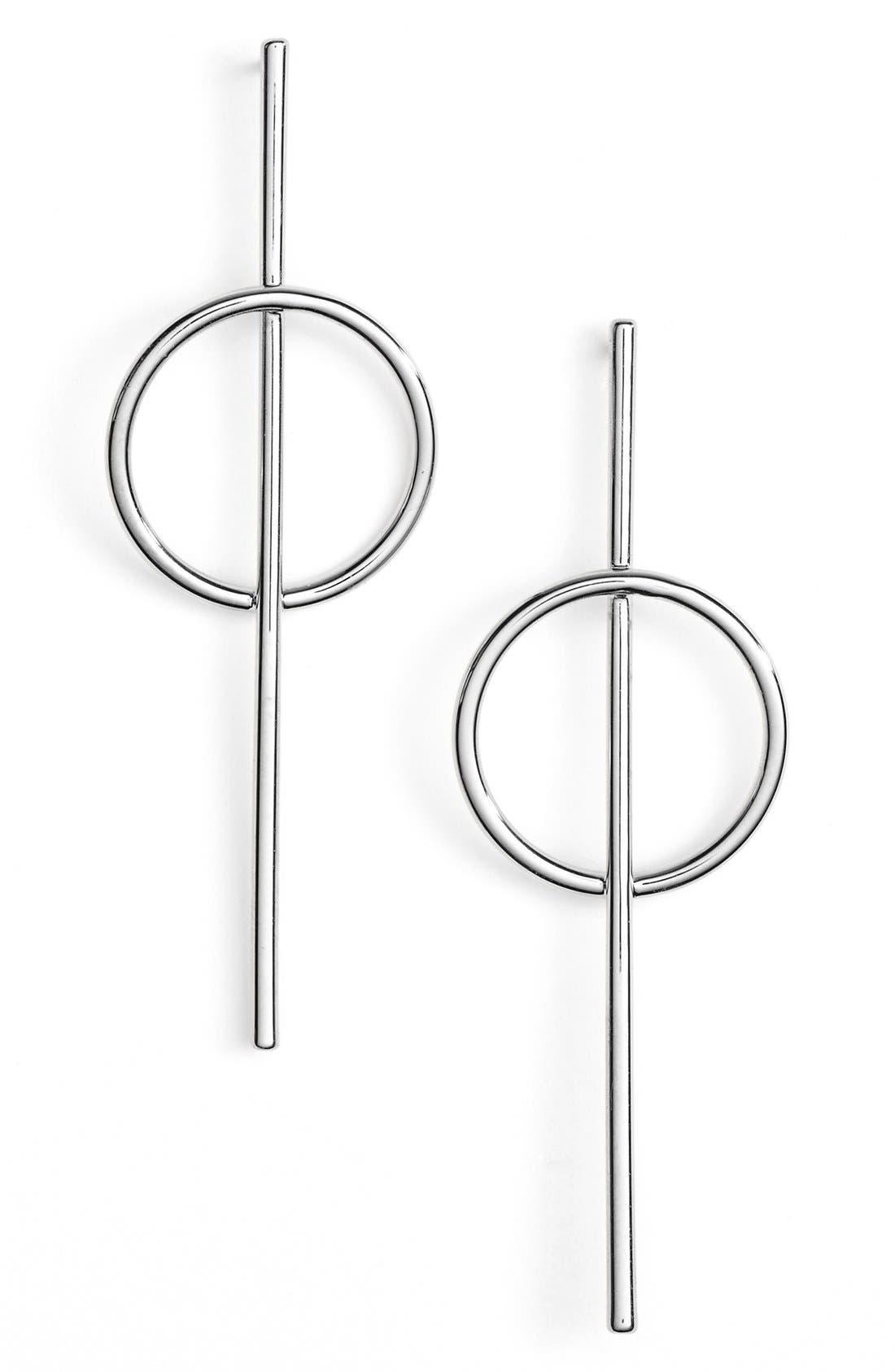 Alternate Image 3  - Argento Vivo Bar Drop Earrings