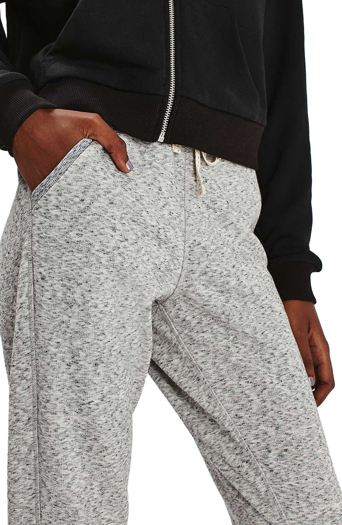 Alternate Image 5  - Topshop Nep Jogger Pants