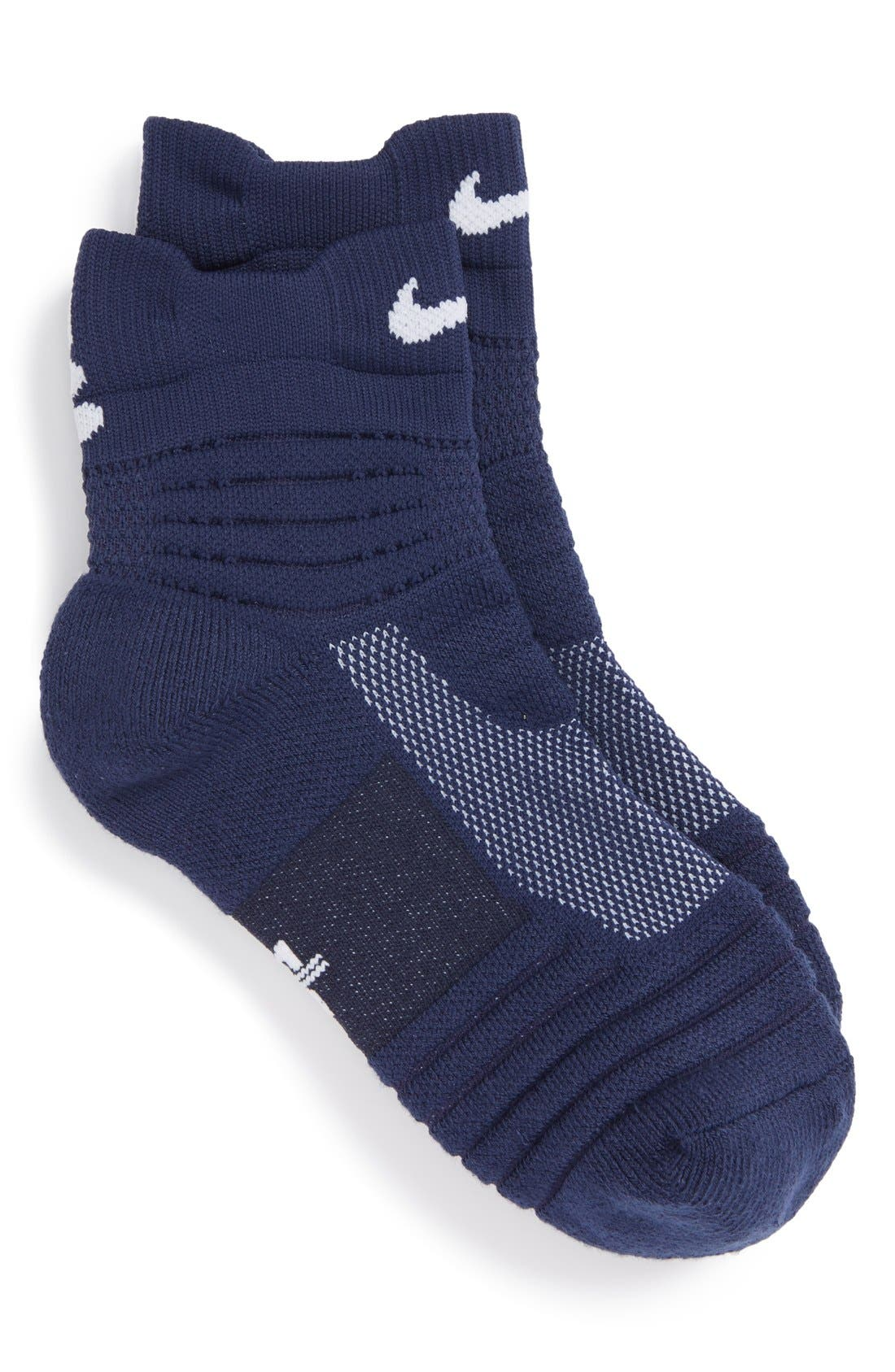 Nike 'Elite Basketball' Dri-FIT Cushioned Quarter Socks (Toddler, Little Kid & Big Kid)