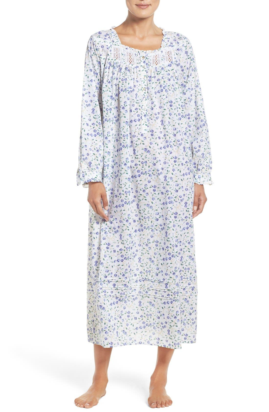 Alternate Image 1 Selected - Elileen West Cotton Nightgown