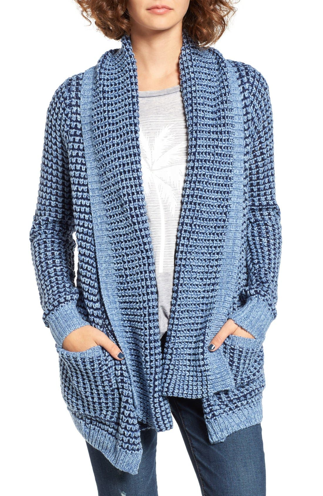 Alternate Image 1 Selected - Rip Curl Shambala Knit Cardigan