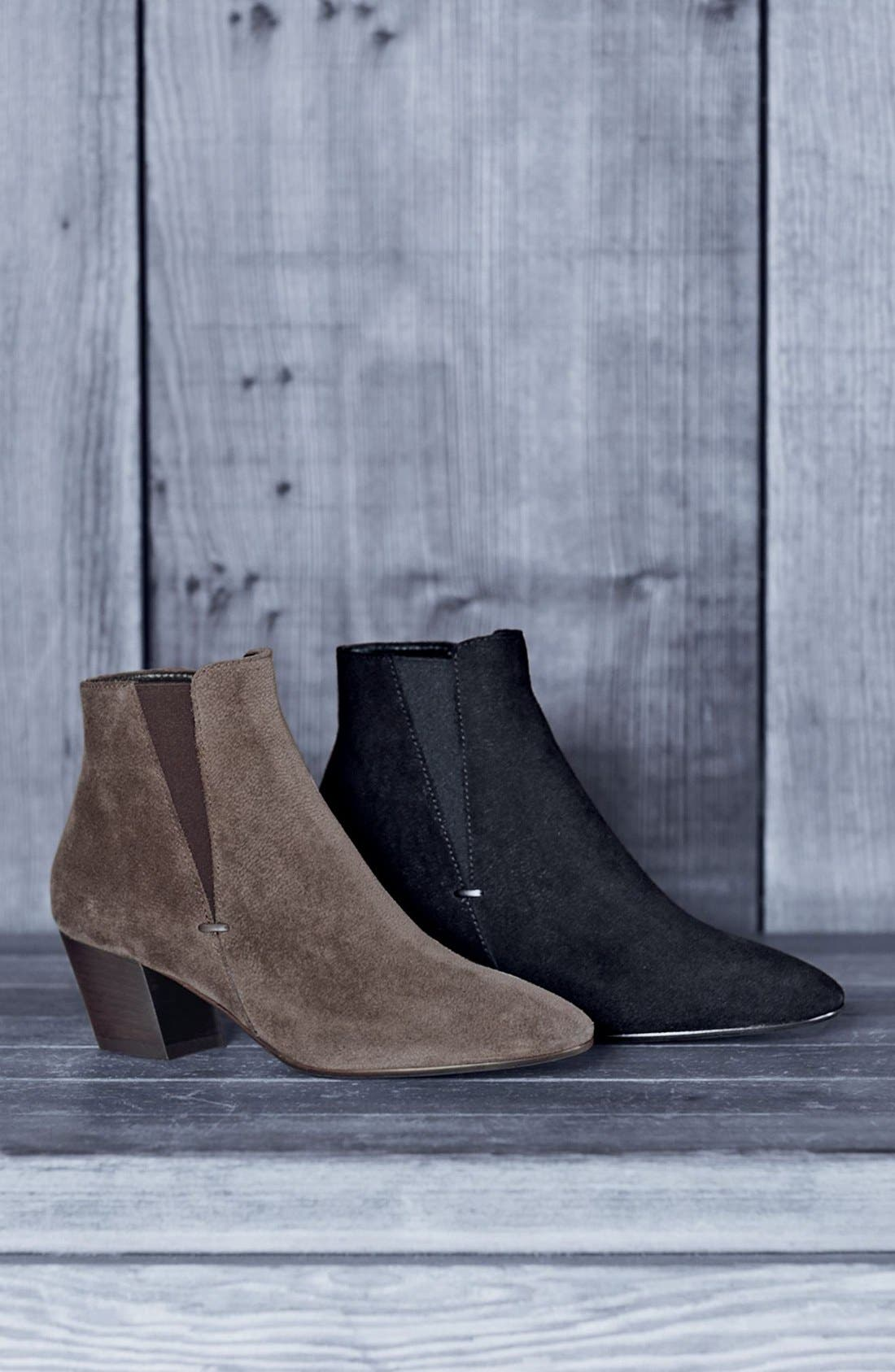 Alternate Image 7  - Aquatalia Faylynn Weatherproof Suede Bootie (Women) (Nordstrom Exclusive)