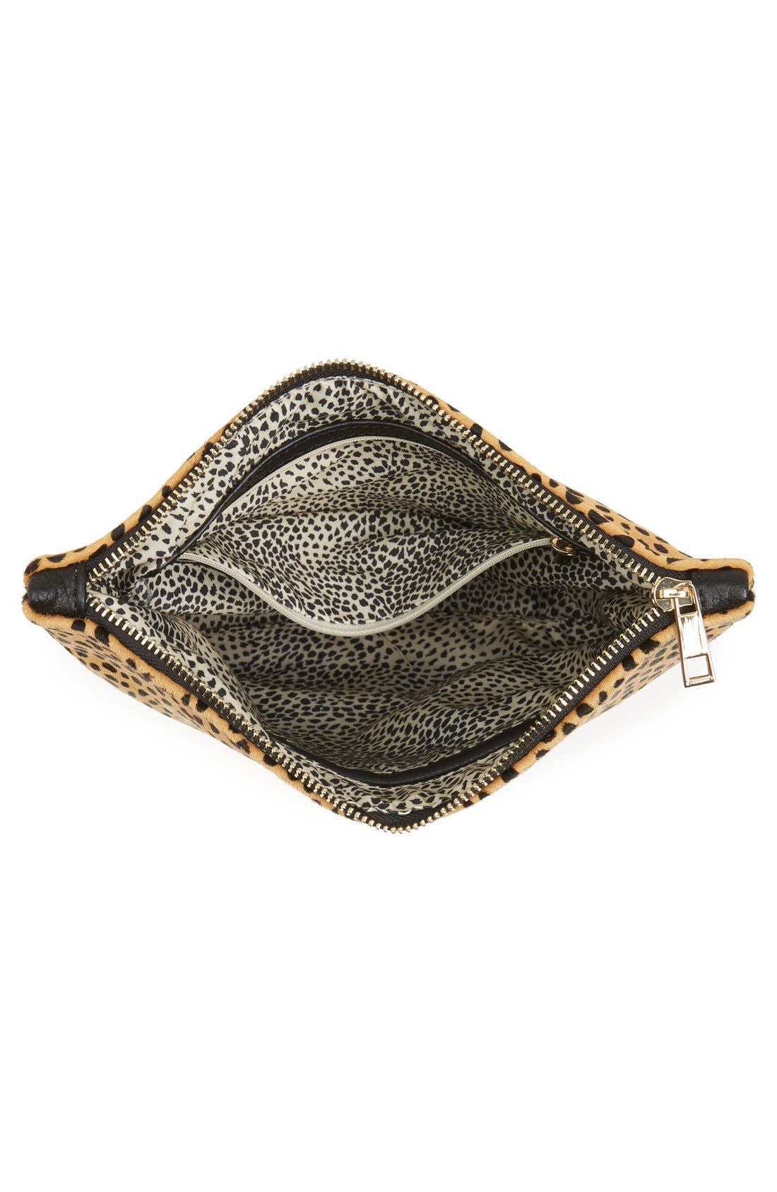 Alternate Image 4  - Sole Society 'Dolce' Genuine Calf Hair Clutch