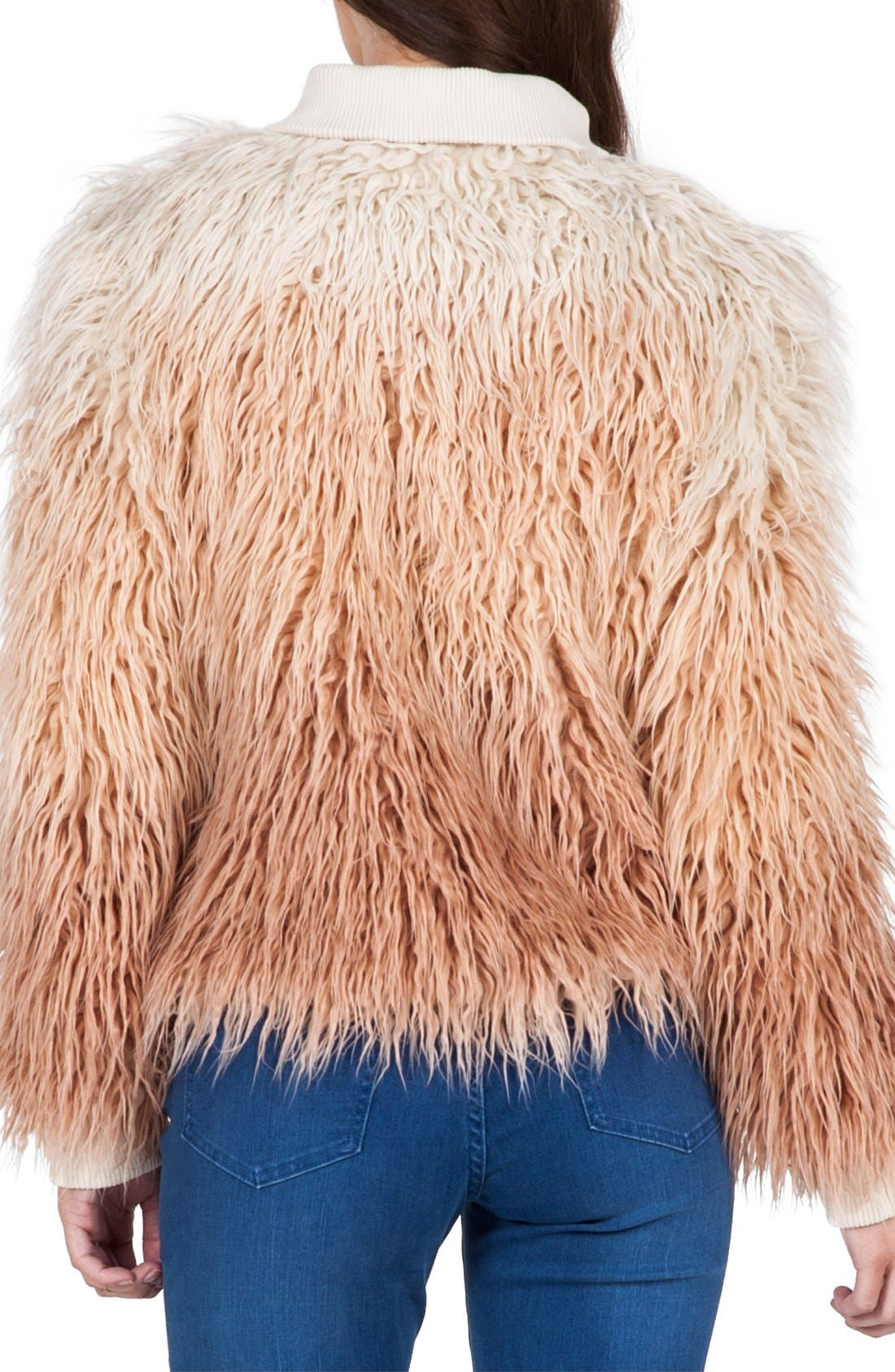 Alternate Image 2  - Volcom 'Furrankie' Faux Fur Jacket