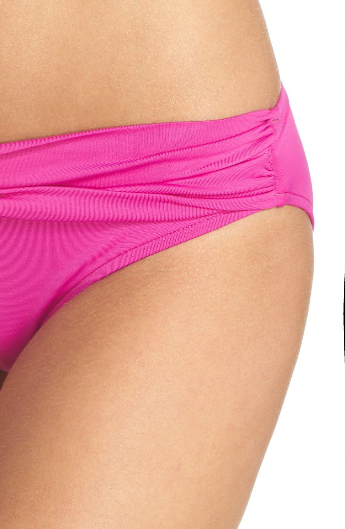 Alternate Image 4  - Seafolly Hipster Bikini Bottoms