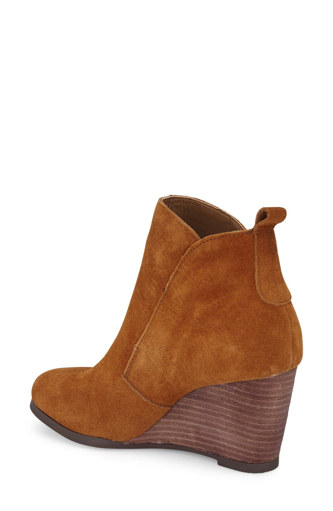 Alternate Image 2  - Sole Society Brigitte Wedge Bootie (Women)