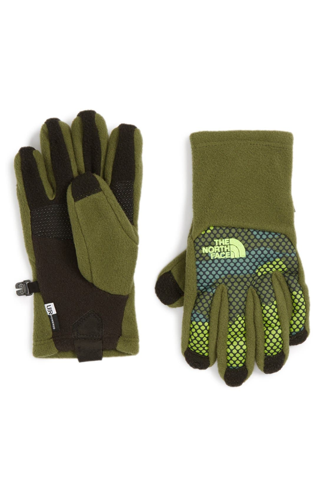 Alternate Image 1 Selected - The North Face 'Denali E-Tip' Gloves (Boys)