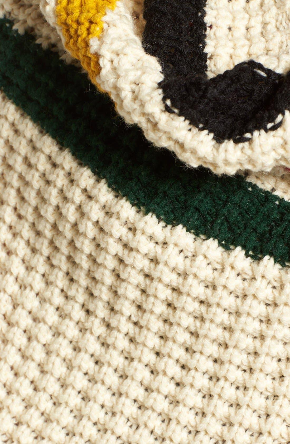 Alternate Image 5  - Pendleton Stripe Chunky Fringe Wrap