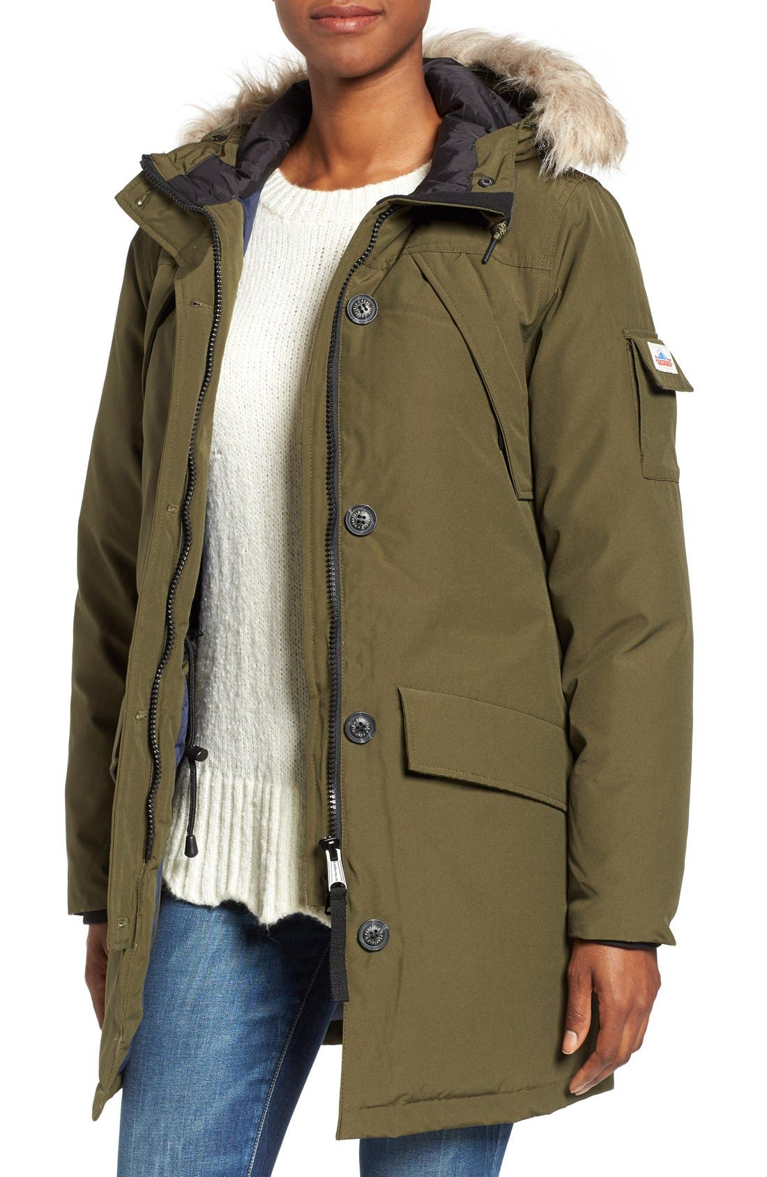 Main Image - Penfield Hoosac Faux Fur Trim Down Parka