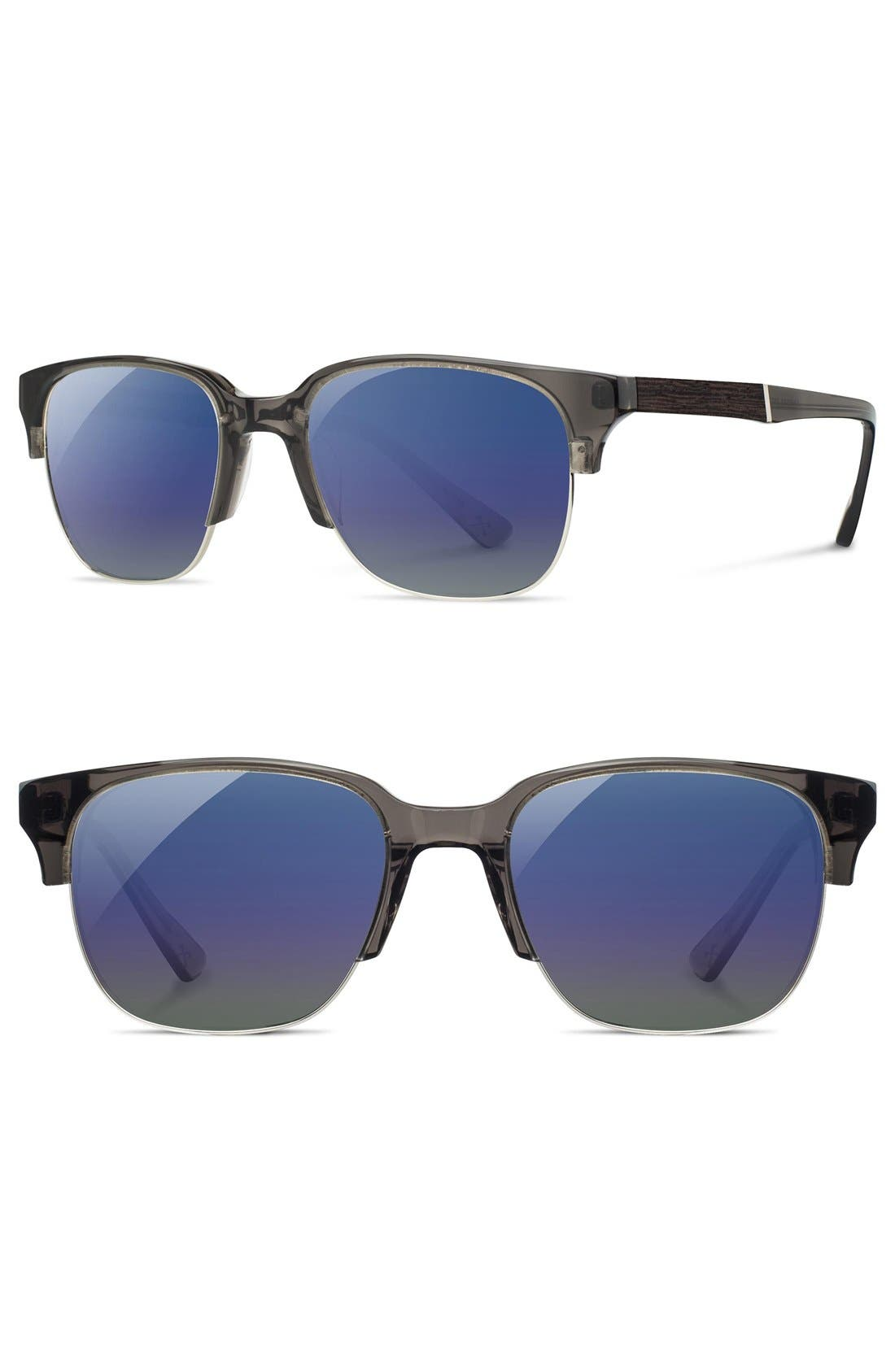 Shwood 'Newport' 52mm Polarized Sunglasses