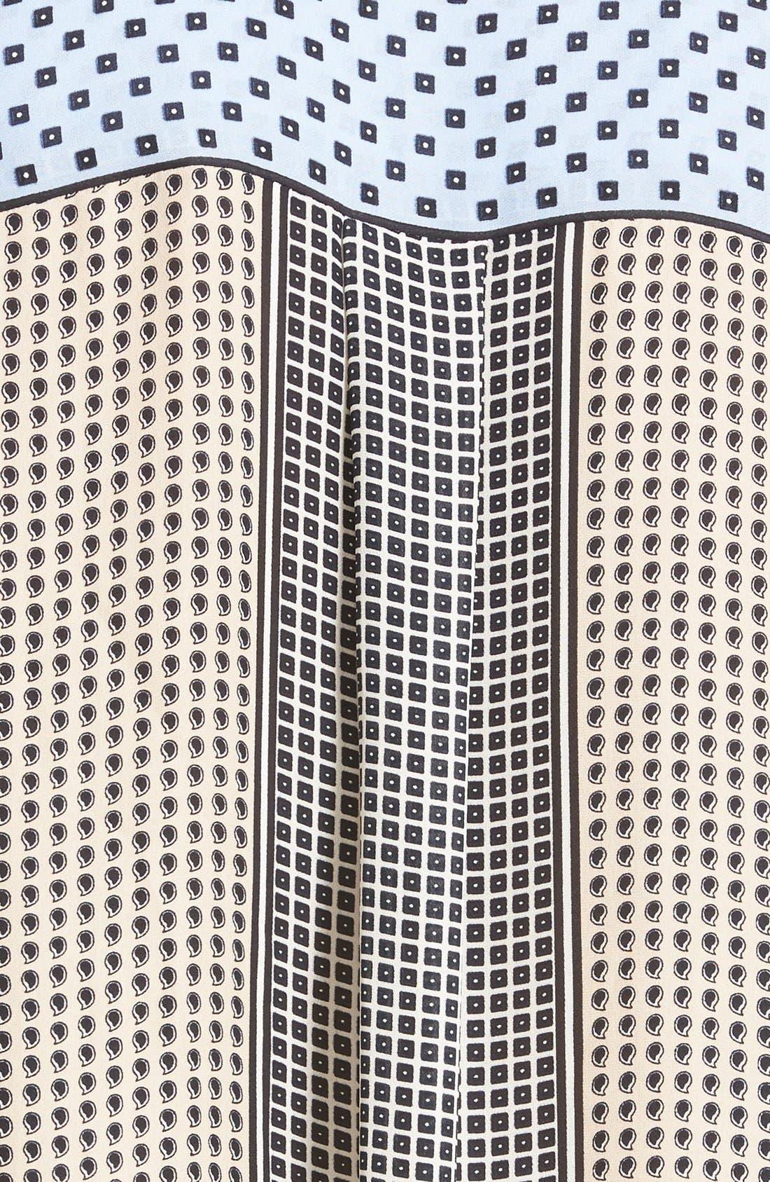 Alternate Image 5  - Derek Lam 10 Crosby Collar Detail Silk Blouse