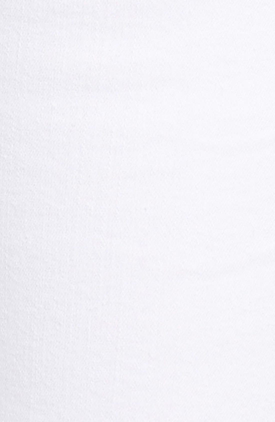 Alternate Image 5  - Good American Good Legs High Rise Skinny Jeans (White 001) (Extended Sizes)
