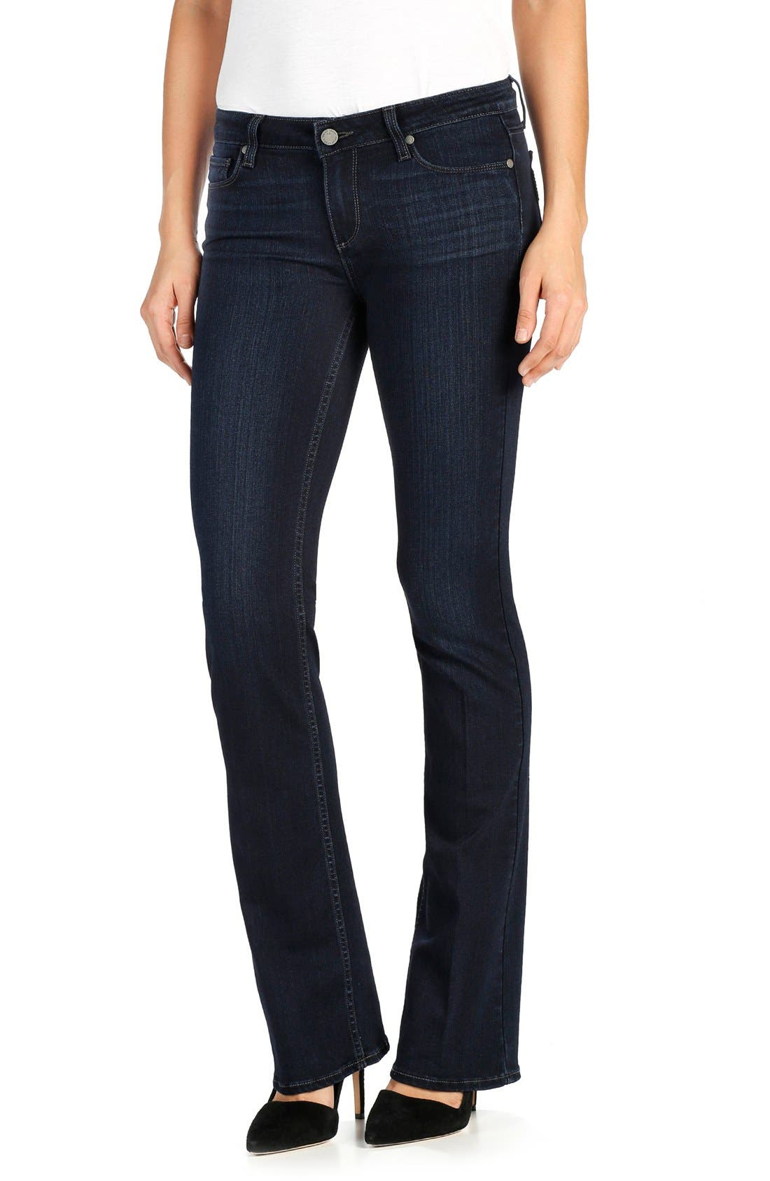 Alternate Image 1 Selected - PAIGE Transcend - Manhattan Bootcut Jeans (Dayton)
