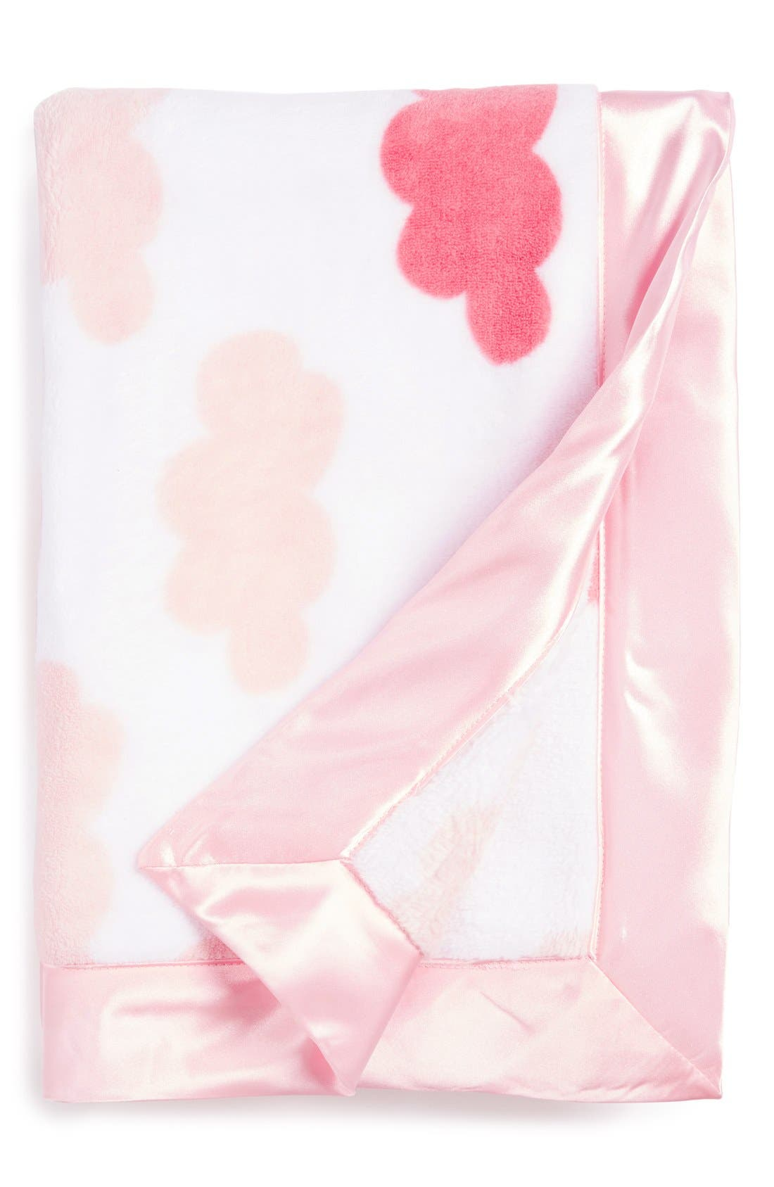 Alternate Image 1 Selected - Nordstrom Baby Print Plush Blanket