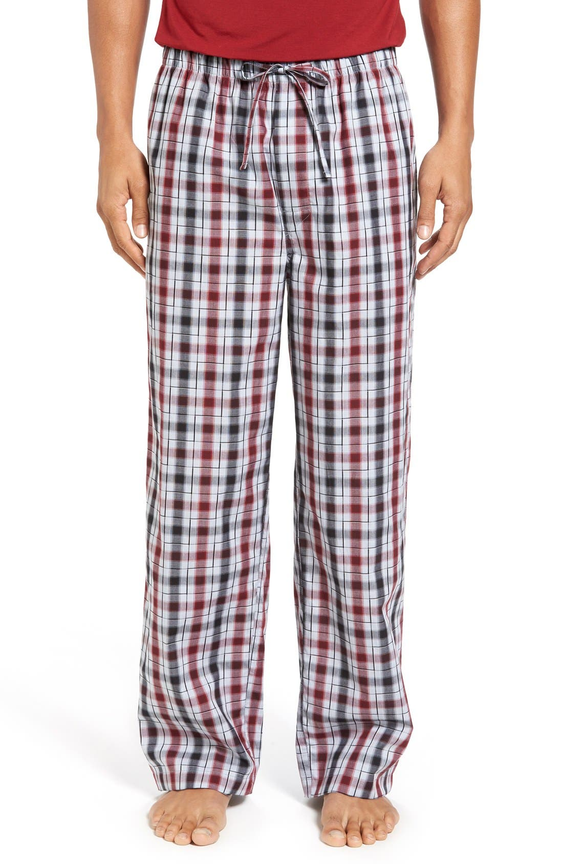 NORDSTROM MEN'S SHOP Woven Lounge Pants