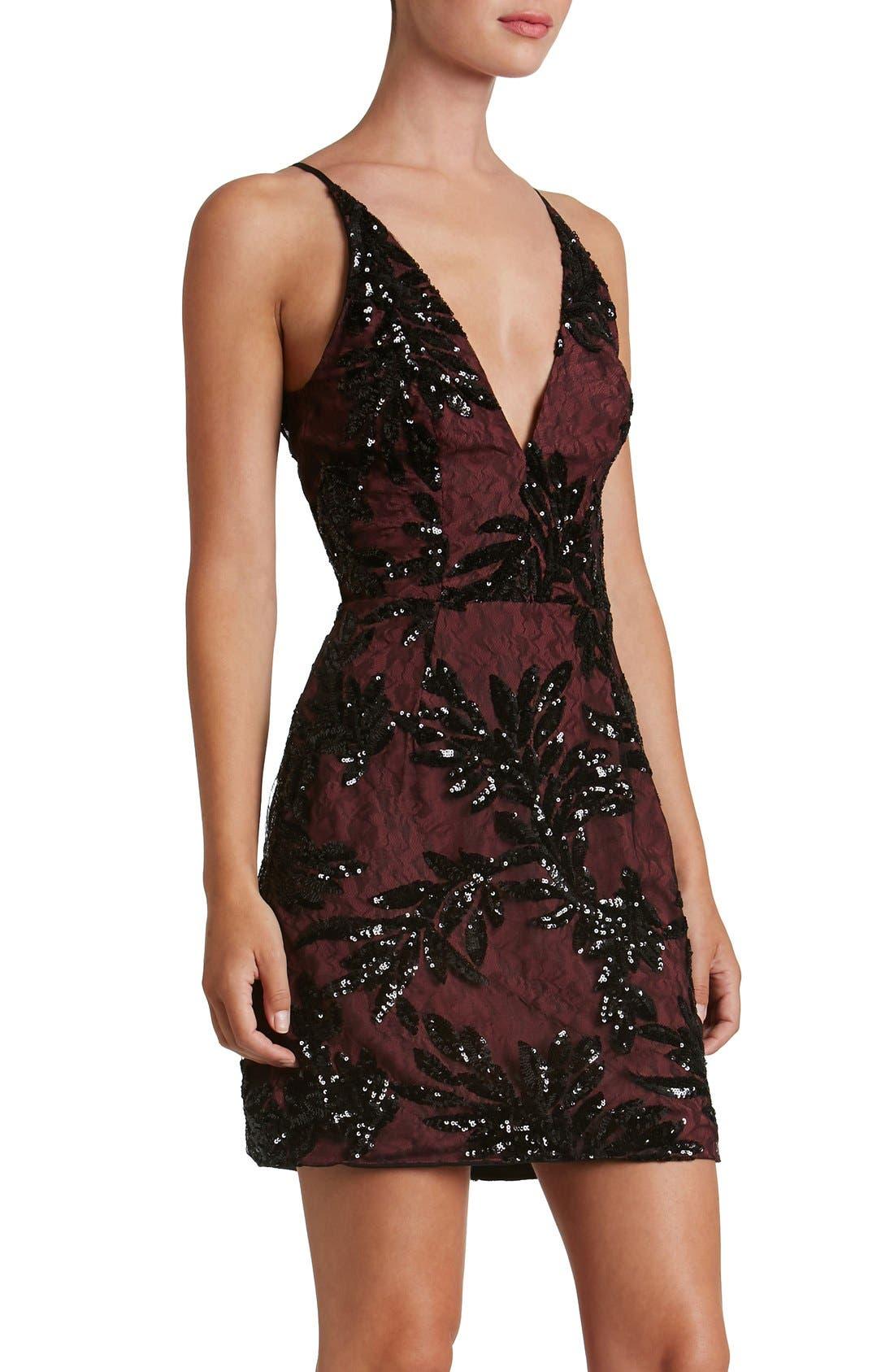 Alternate Image 5  - Dress the Population Jordyn Sequin Sheath Dress