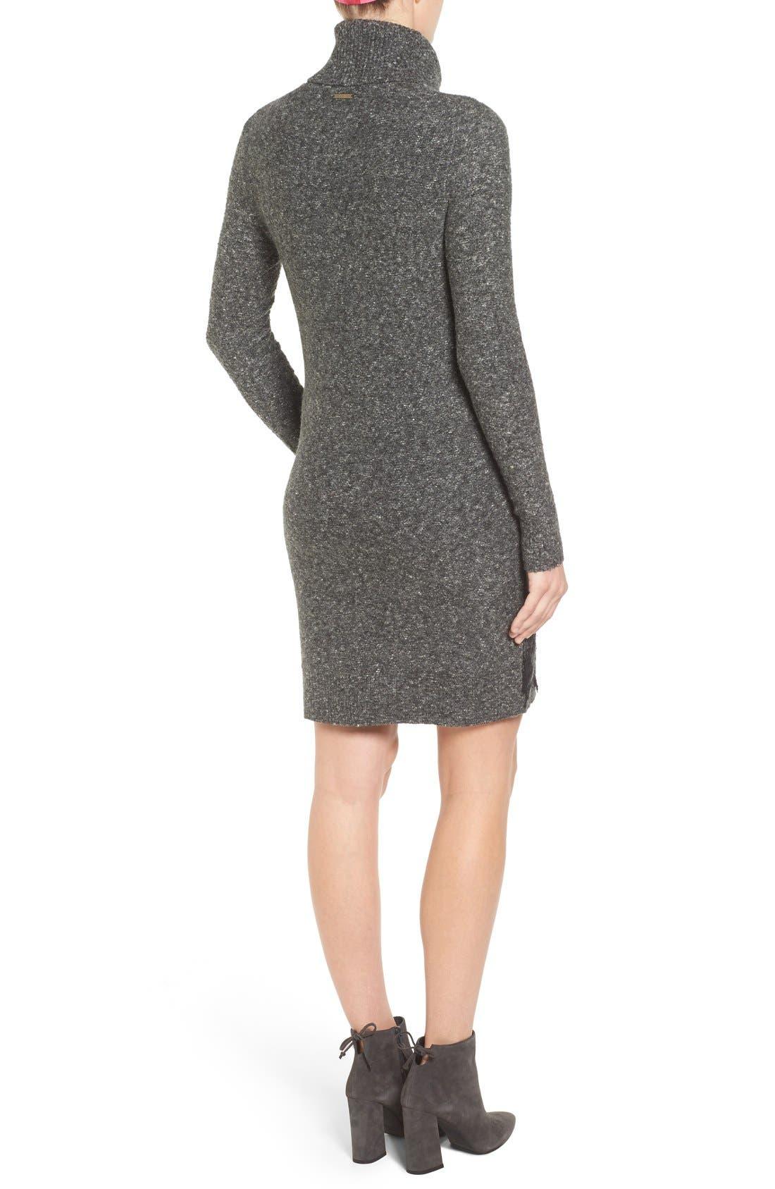 Alternate Image 2  - MICHAEL Michael Kors Needle Punched Lace Sweater Dress