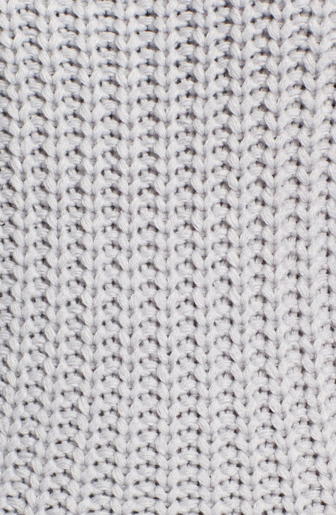 Alternate Image 5  - J.O.A. Rib Knit Sweater