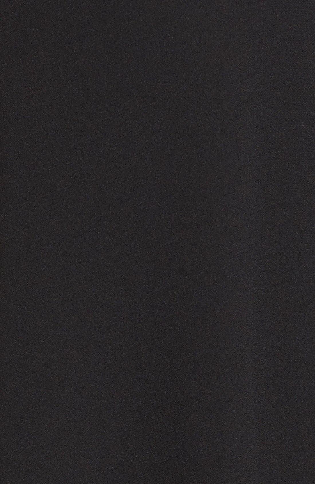 Alternate Image 5  - Eileen Fisher Silk Georgette Crepe Asymmetrical V-Neck Top (Regular & Petite)