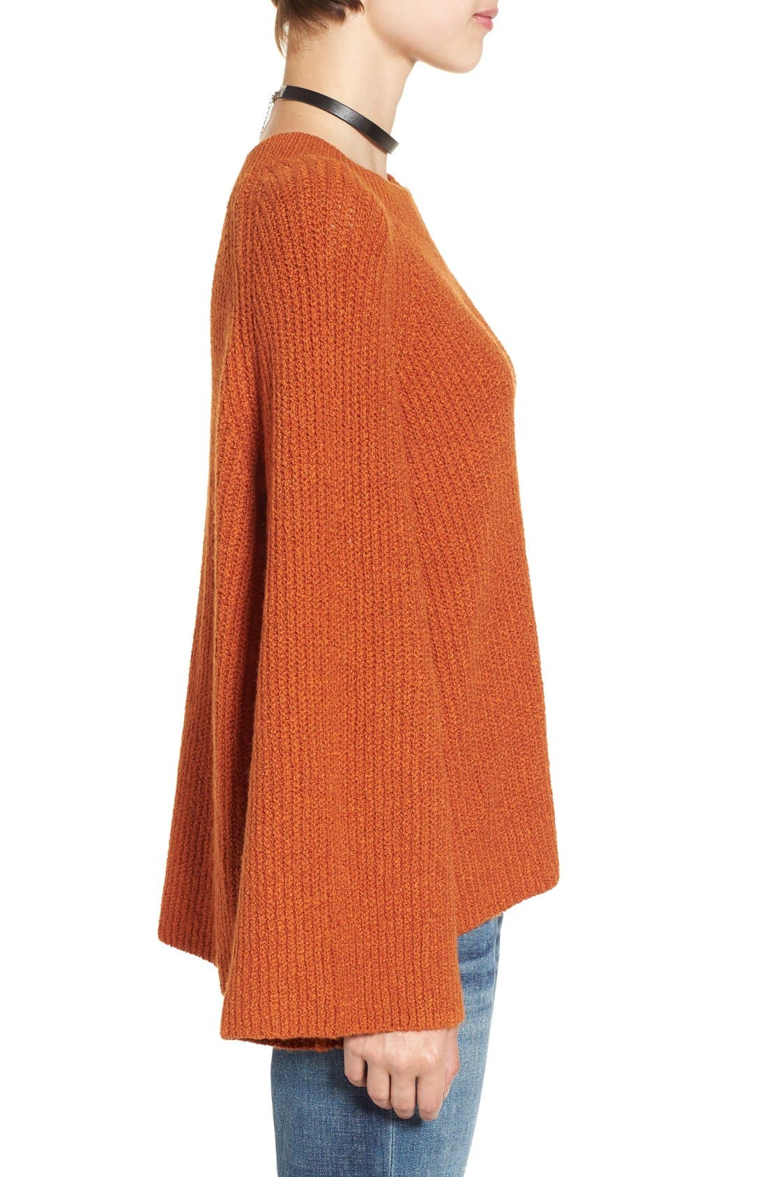 Alternate Image 3  - BP. Knit Bell Sleeve Pullover