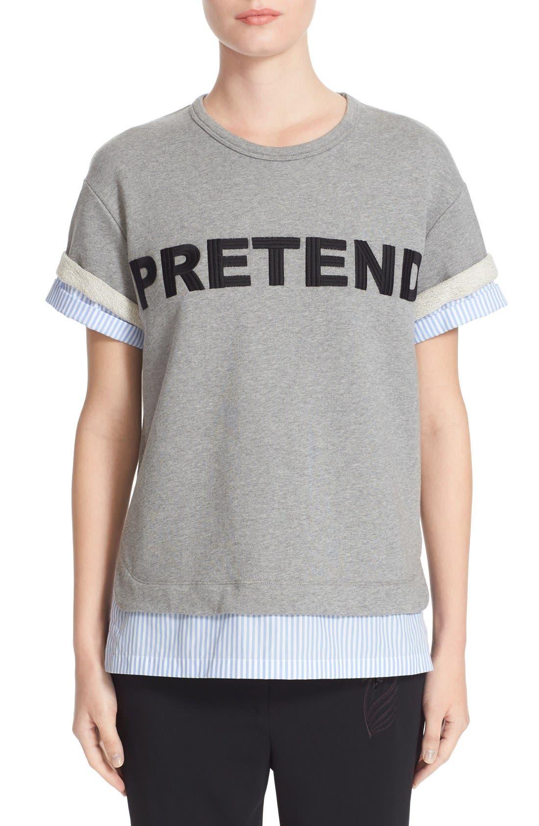 N°21 Embroidered Sweatshirt