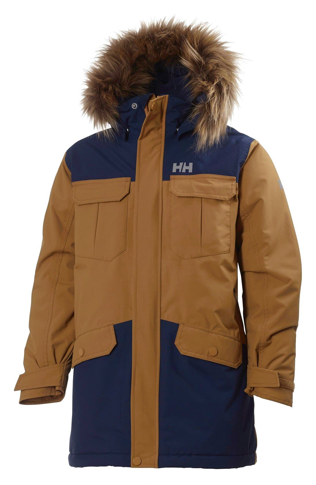 Helly Hansen 'Jr. Legacy' Parka (Big Boys)