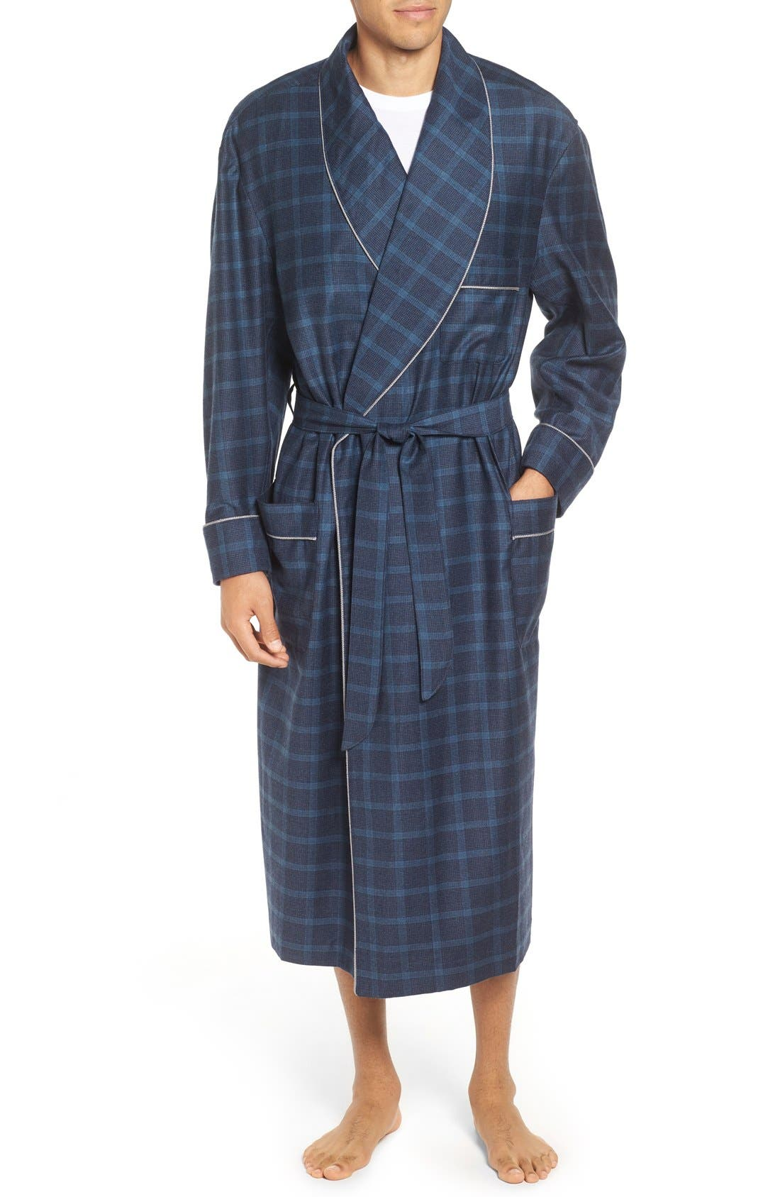 MAJESTIC INTERNATIONAL Mercer Wool & Cashmere Robe