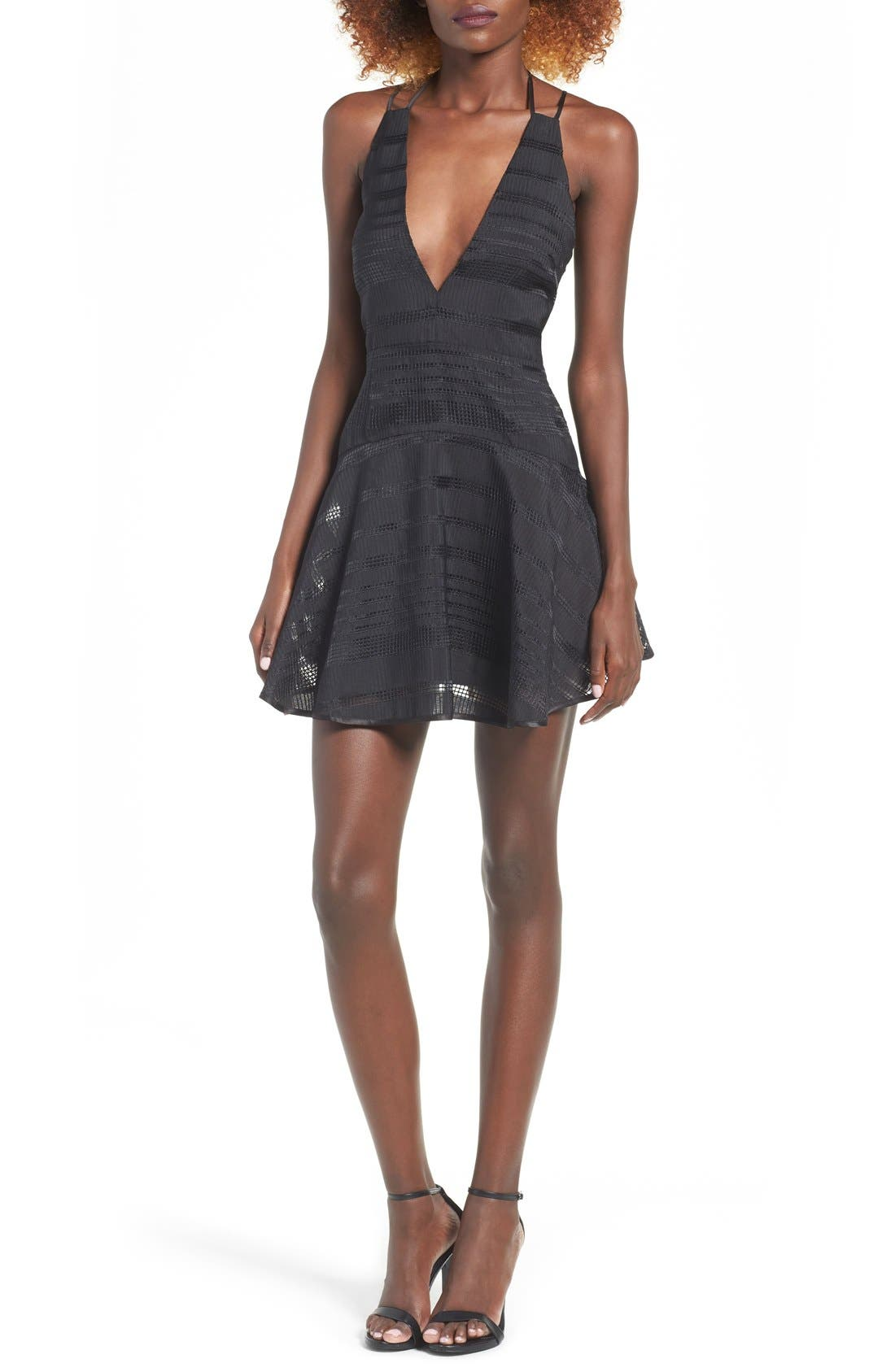 Alternate Image 1 Selected - Finders Keepers the Label Brixton Fit & Flare Dress