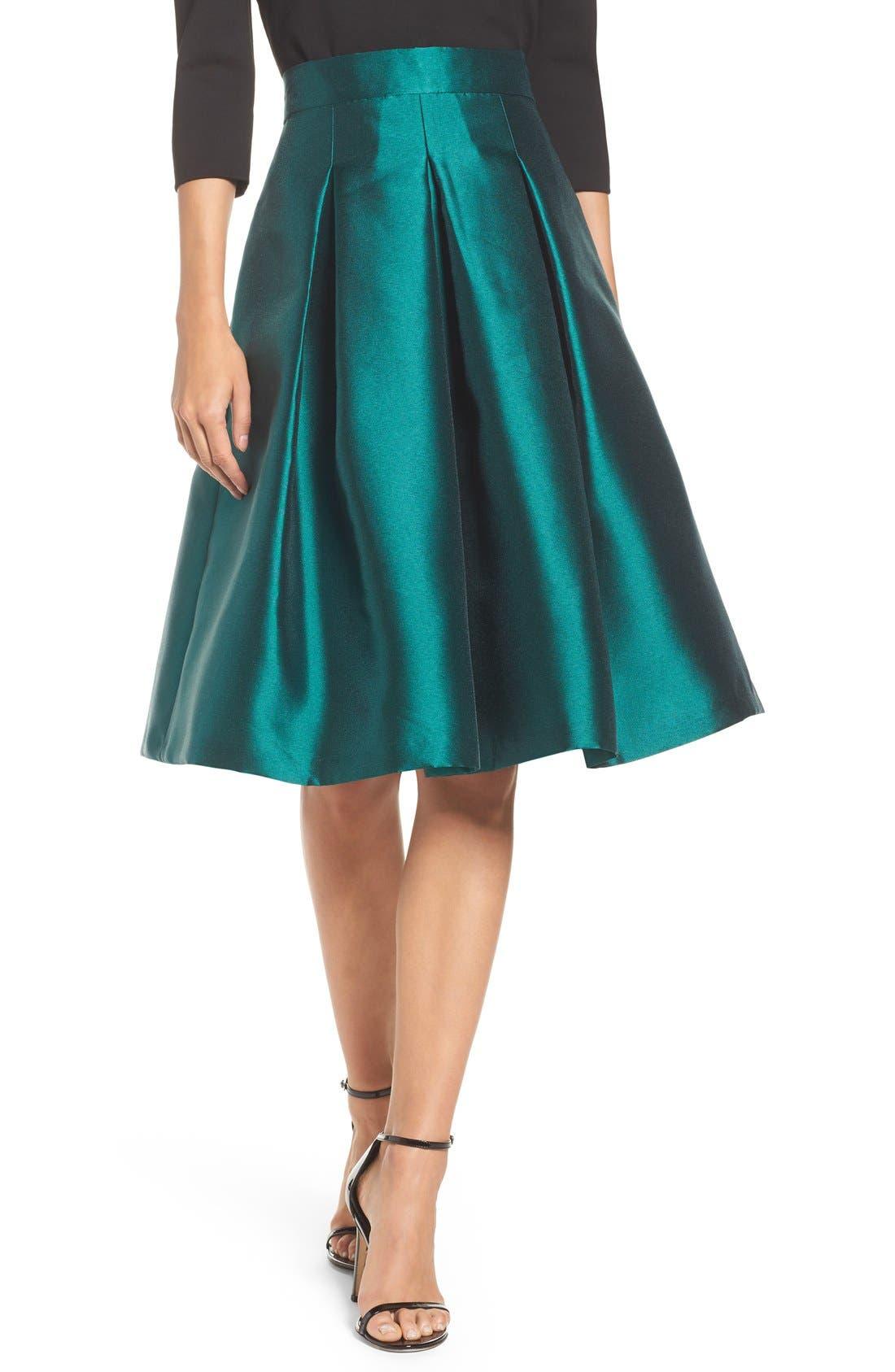 Alternate Image 1 Selected - Eliza J Release Pleat Full Skirt