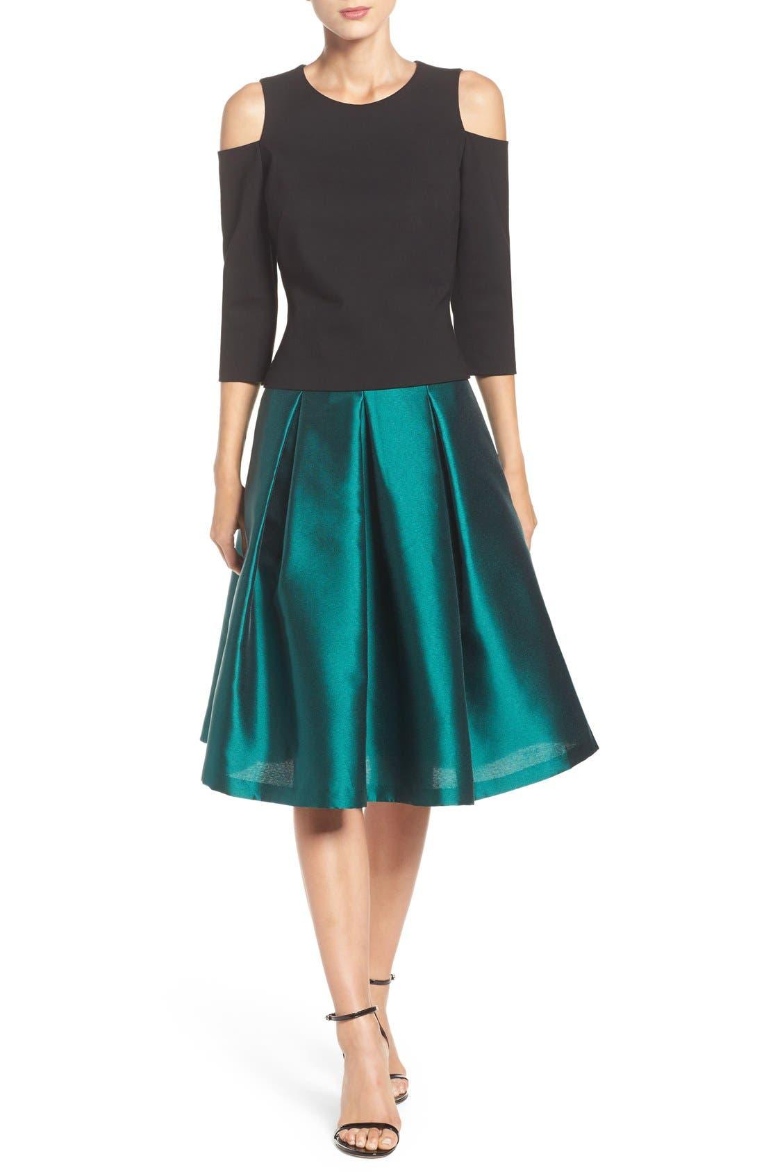 Alternate Image 3  - Eliza J Release Pleat Full Skirt