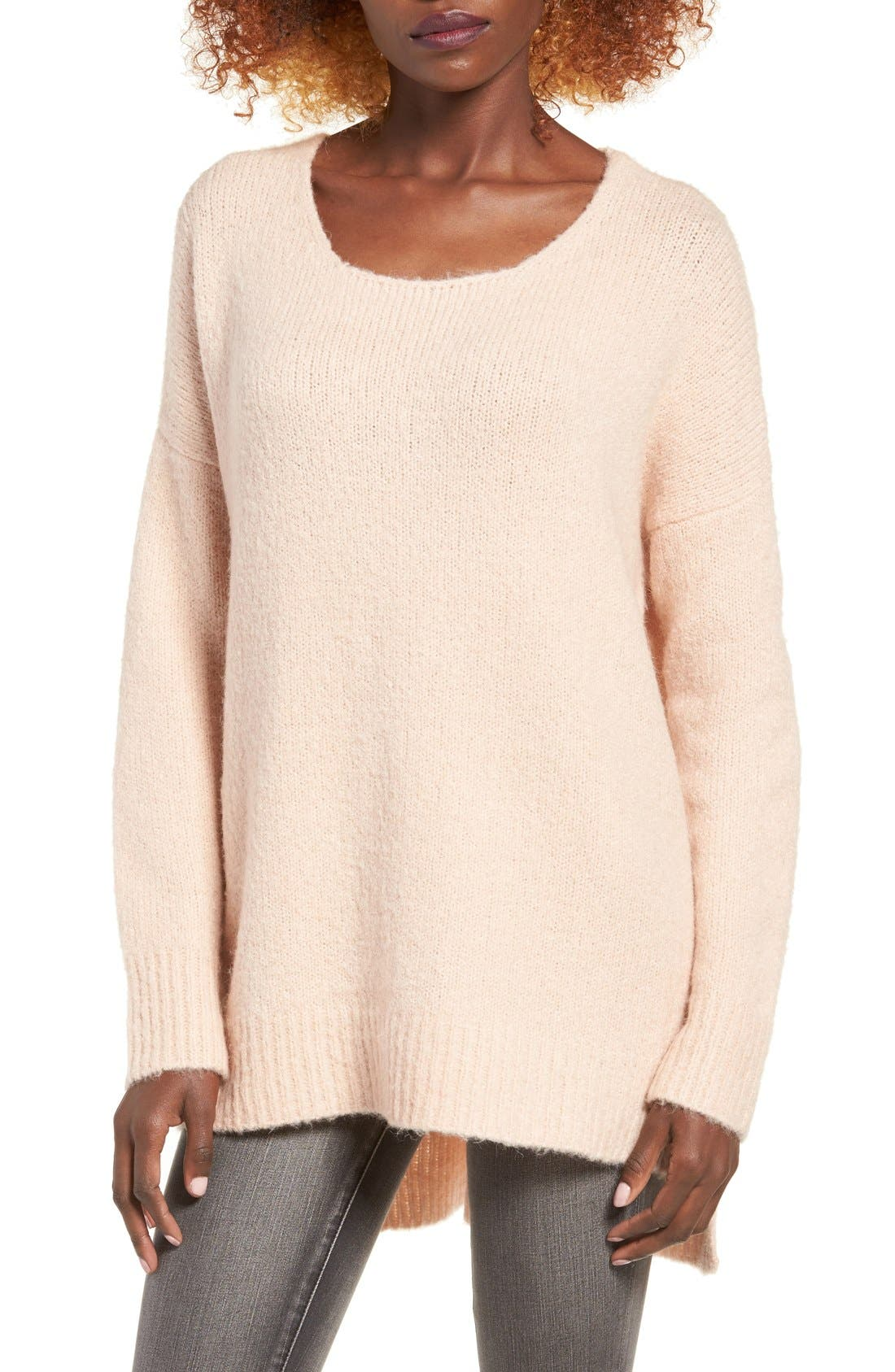 Alternate Image 1 Selected - Dreamers by Debut Cross Back Sweater