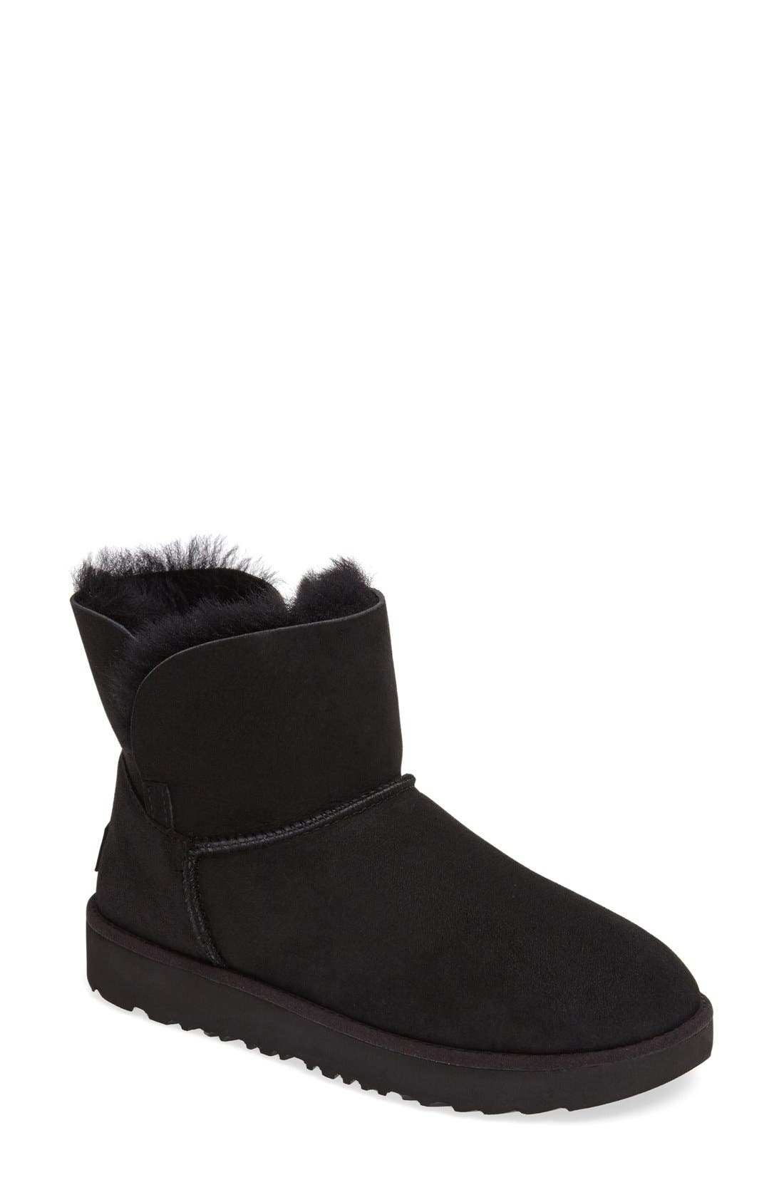 Alternate Image 1 Selected - UGG® Classic Cuff Mini Boot (Women)