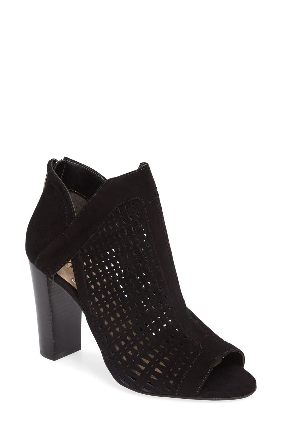 Main Image - Vince Camuto Cranita Perforated Bootie (Women)