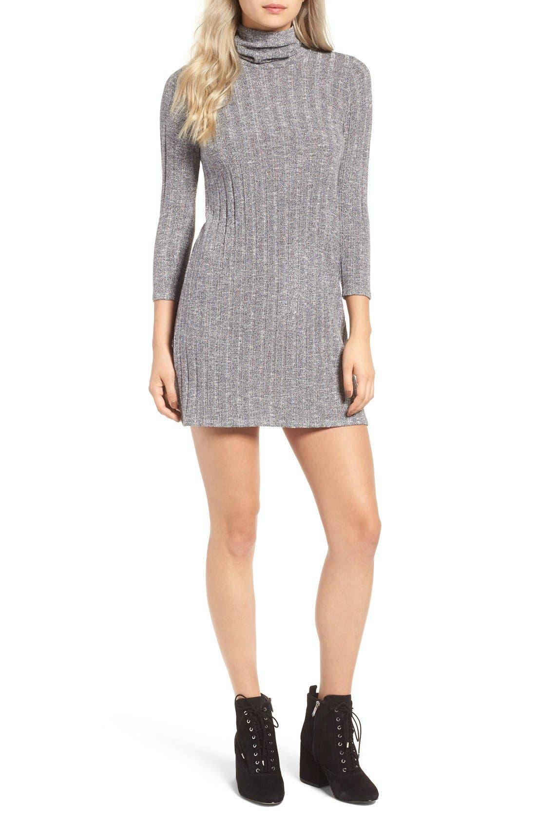 Alternate Image 1 Selected - O'Neill 'Jovana' Mock Neck Shift Dress