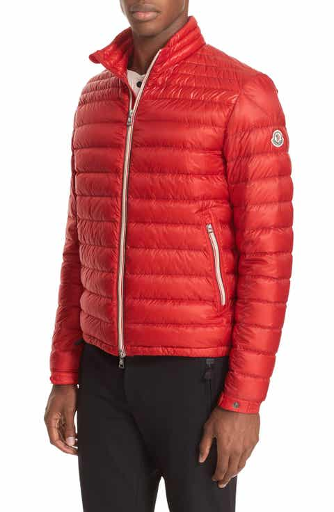 Moncler Daniel Channel Quilted Down Jacket