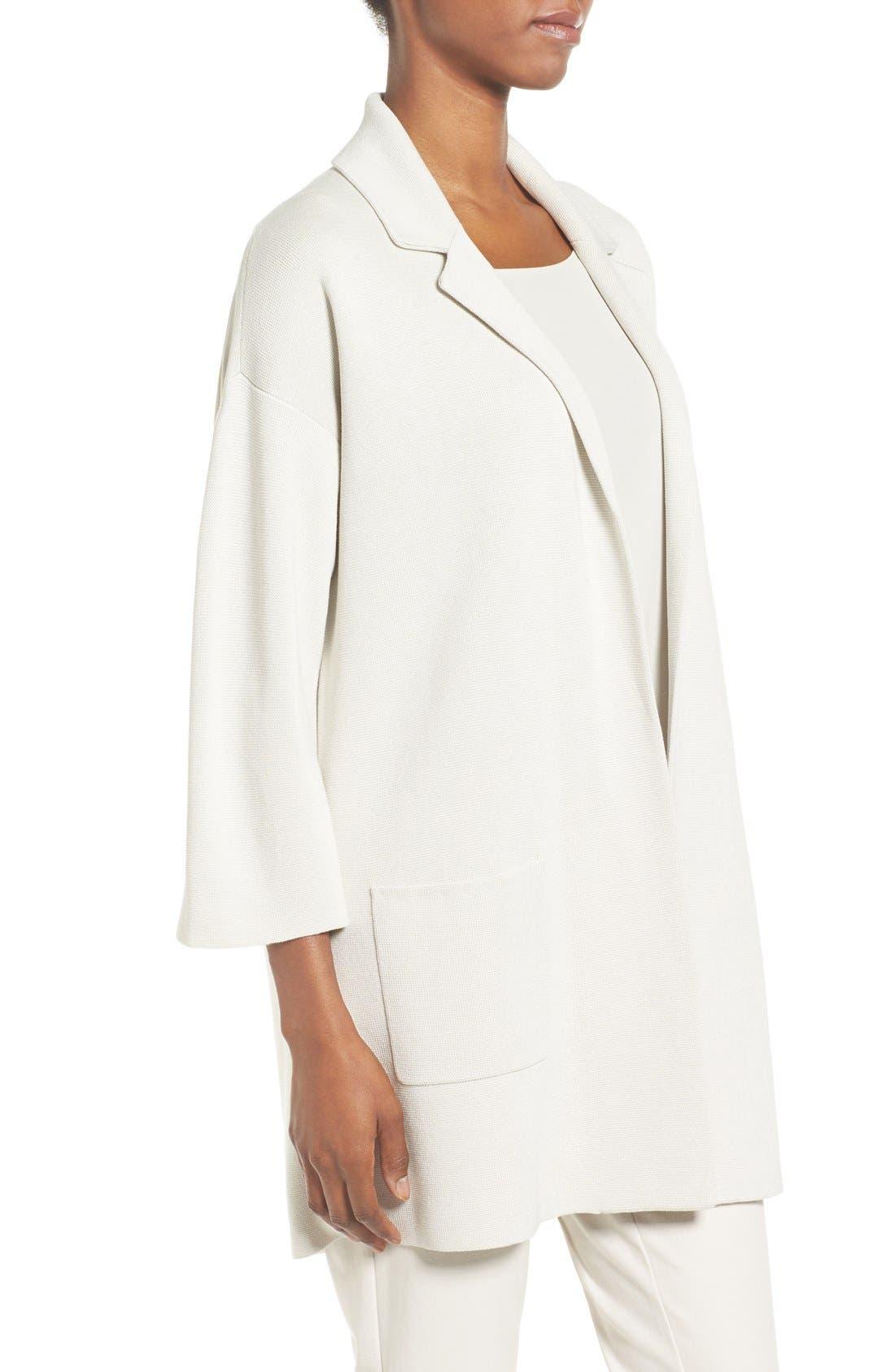 Alternate Image 3  - Eileen Fisher Silk & Organic Cotton Jacket