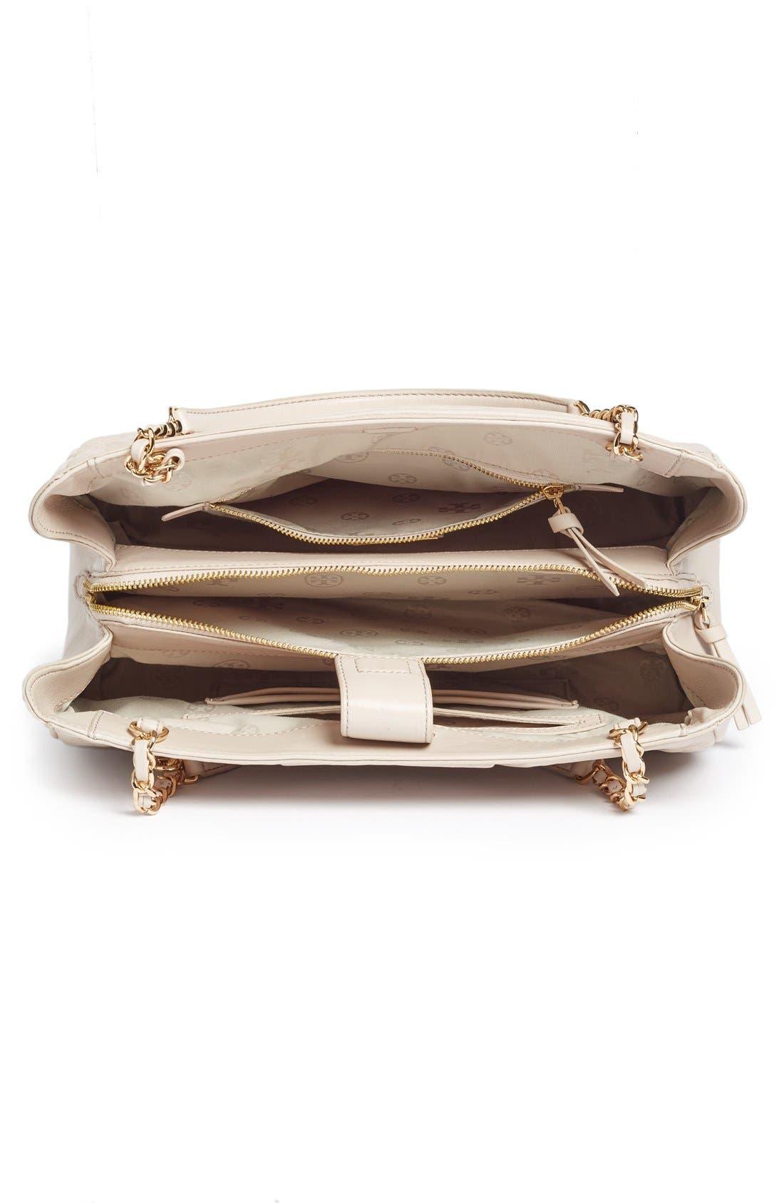 Alternate Image 4  - Tory Burch Fleming Leather Shoulder Bag