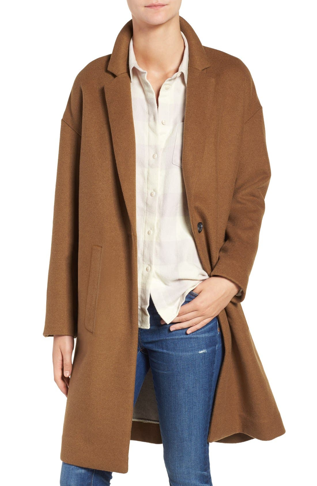 Alternate Image 1 Selected - Madewell Monsieur Car Coat