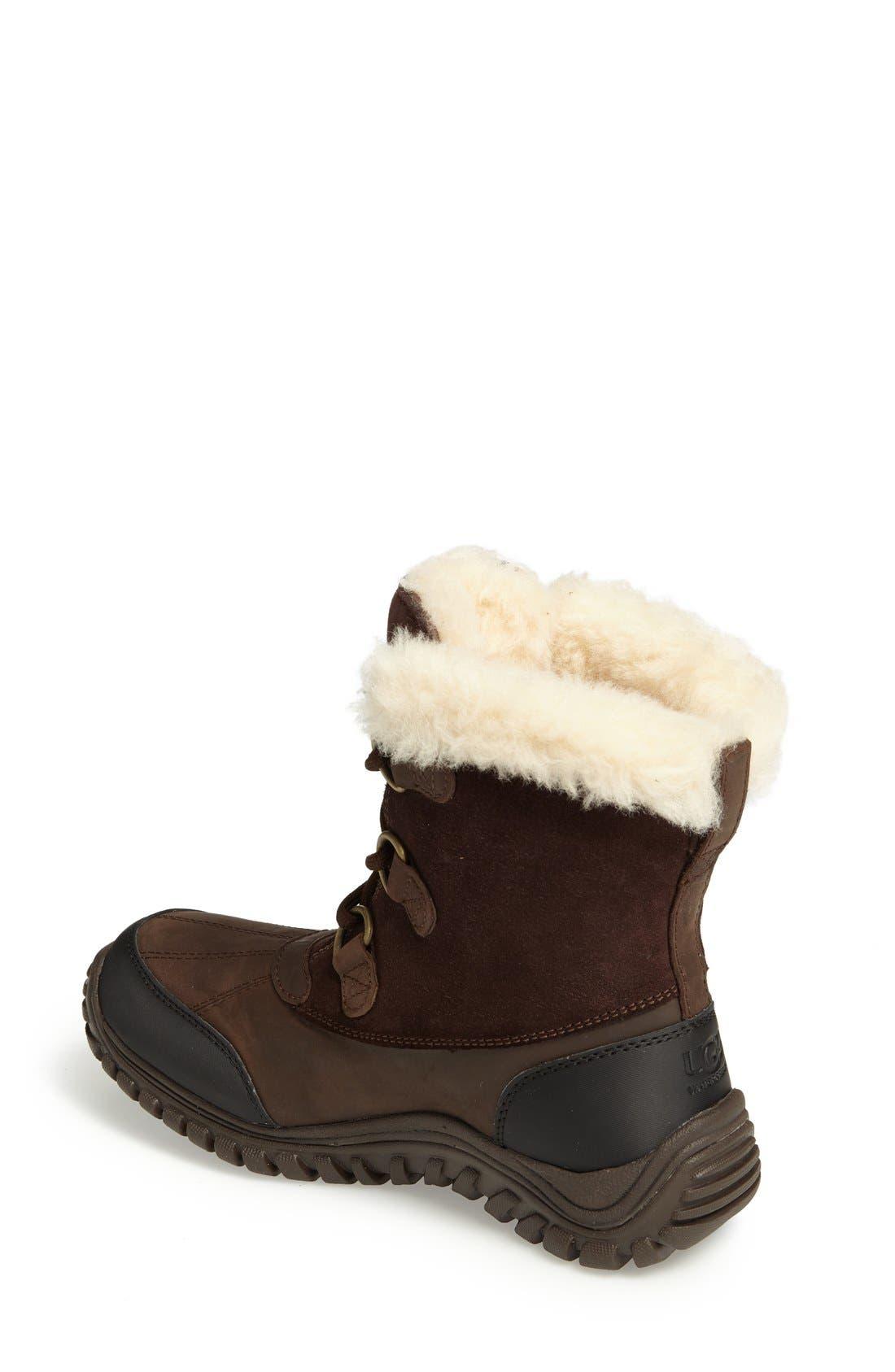 Alternate Image 2  - UGG® Ostrander Waterproof Winter Boot (Women)
